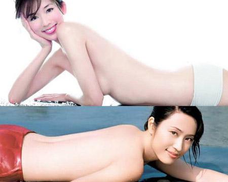 Lâm Chi Linh (Lin Chi Ling) và Trần Pháp Dung (Chen Farong).